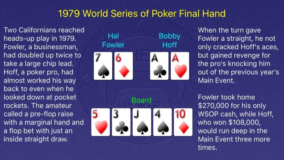 1979 WSOP Main Event Final Hand